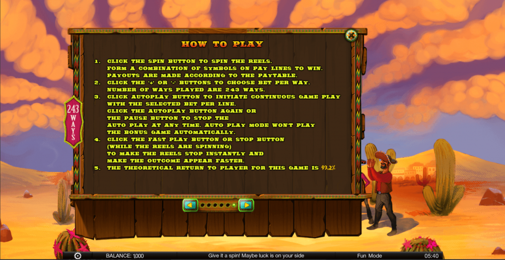 learn how to play slots amigos fiesta