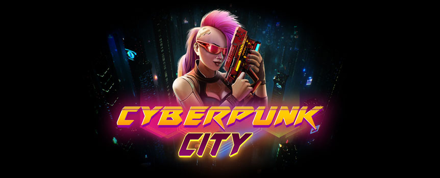 Cyberpunk City slots