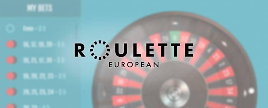 House Edge for European Roulette