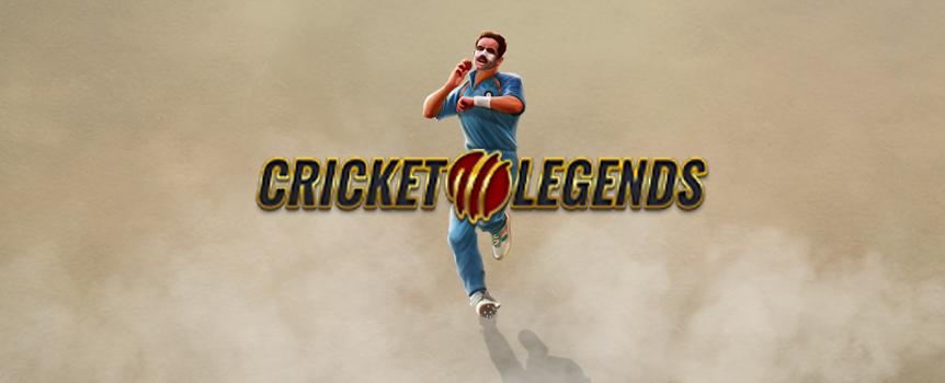 Cricket Legends online slots game