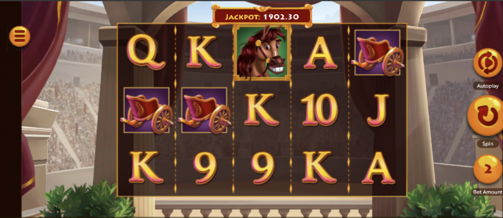 Caesar's victory slots features