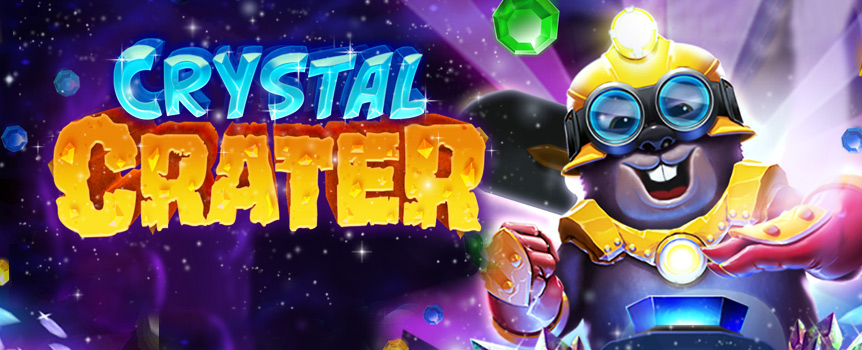 Crystal Crater slot game