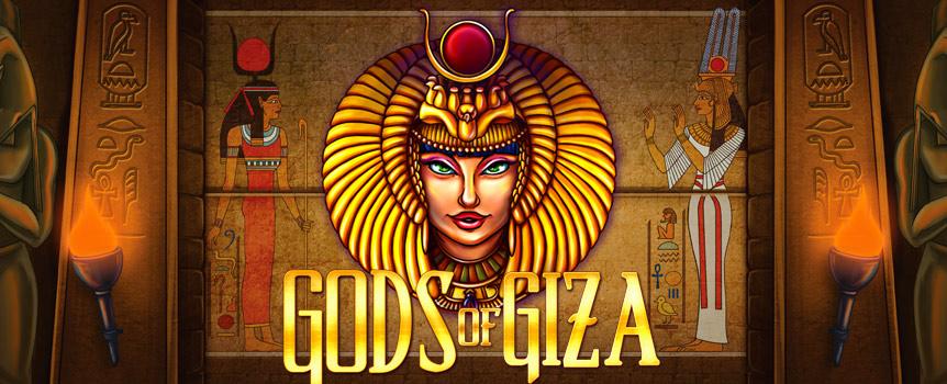 Gods of Giza Enhanced new slot game