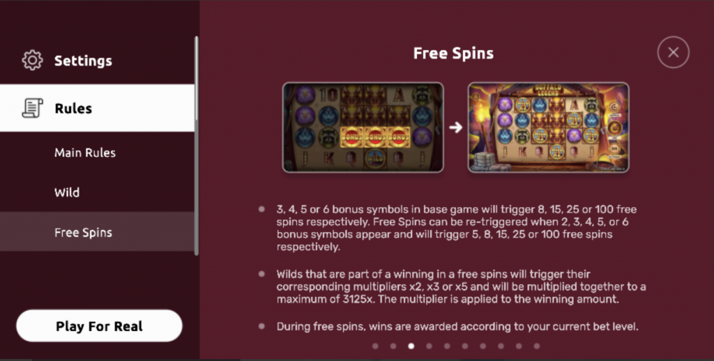 golden buffalo slots game features
