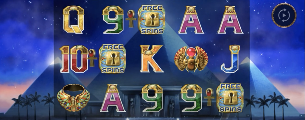 Free Spins with a Night with Cleo slots