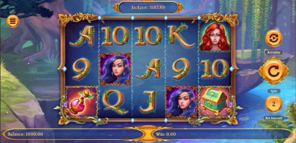 fairy wins slot features and format