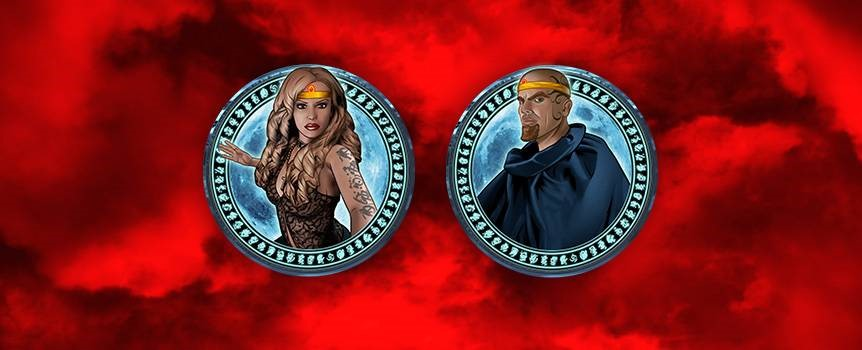 WITCHES AND WIZARDS online slots
